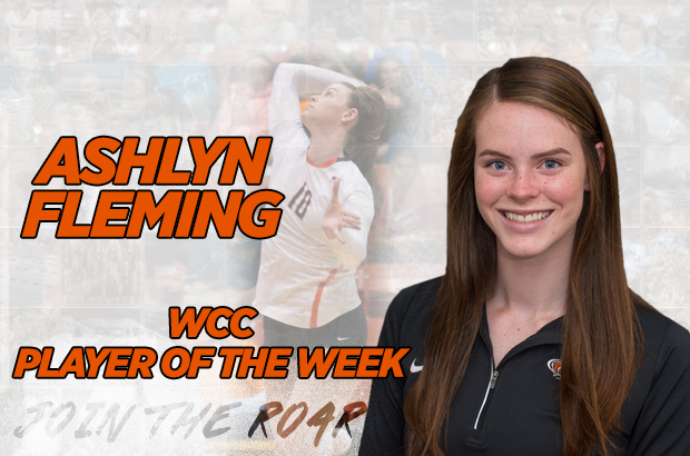 Fleming Named WCC Player Of The Week