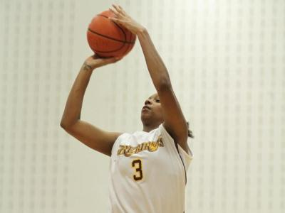 Sophomore reserve guard Julissa Anderson was 5-for-5 from three-point range.
