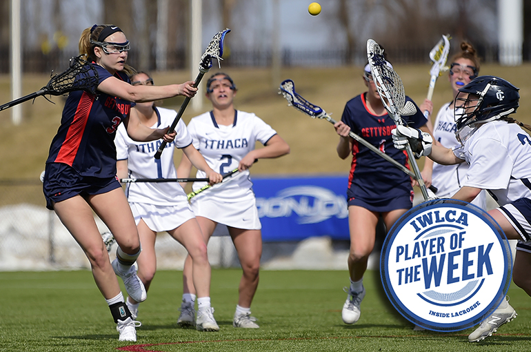 Barr Named IWLCA National Player of the Week