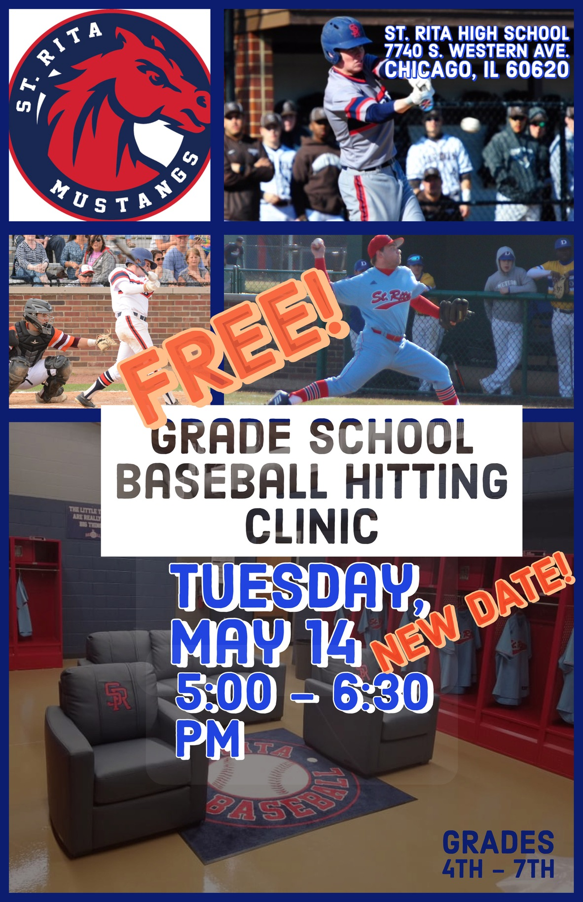 Come out to our 2019 Spring Baseball Hitting Clinic!