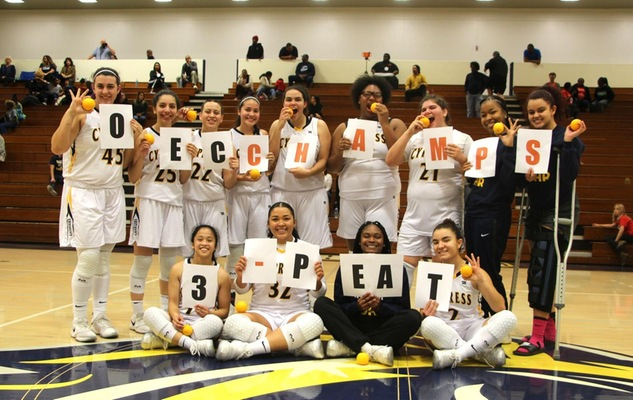Women's Basketball Captures Third Consecutive OEC Title