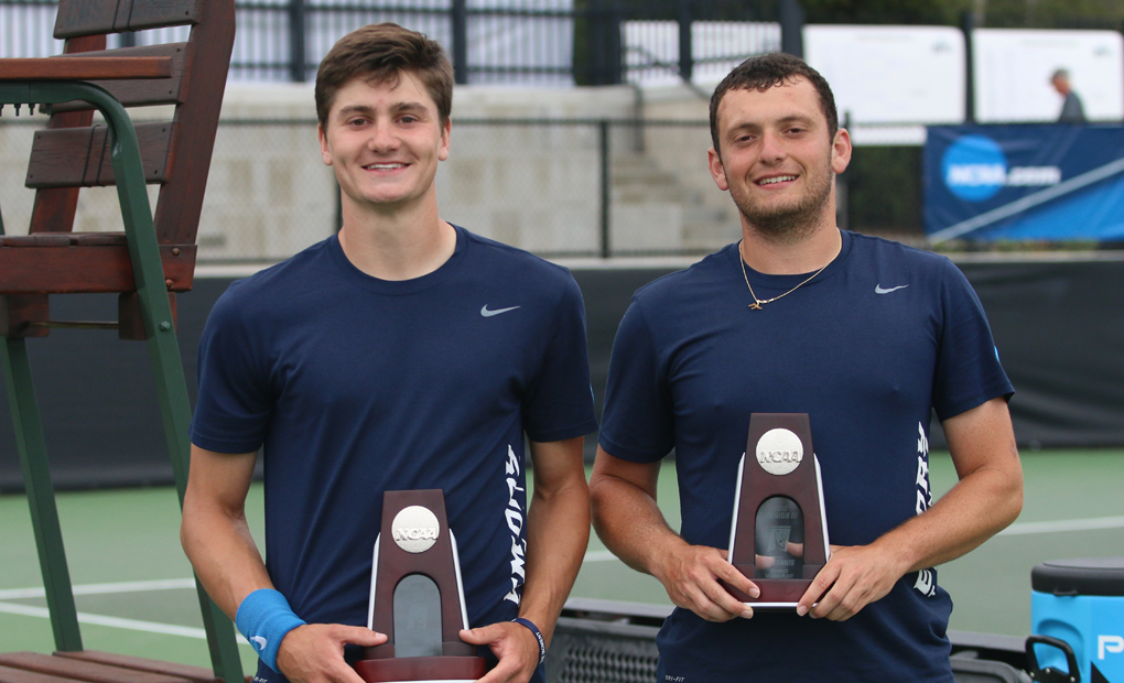 Rubinstein & Spaulding Post Runner-Up Finish At NCAA D-III Doubles Championships