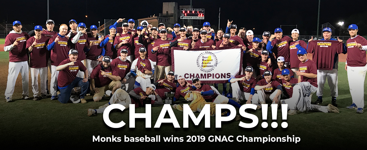 Monks Walk Off with GNAC Championship!!