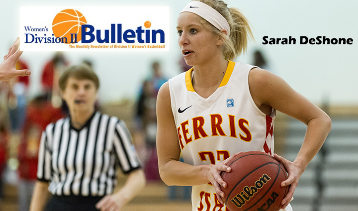 Ferris State's Sarah DeShone Receives Yet Another All-America Honor
