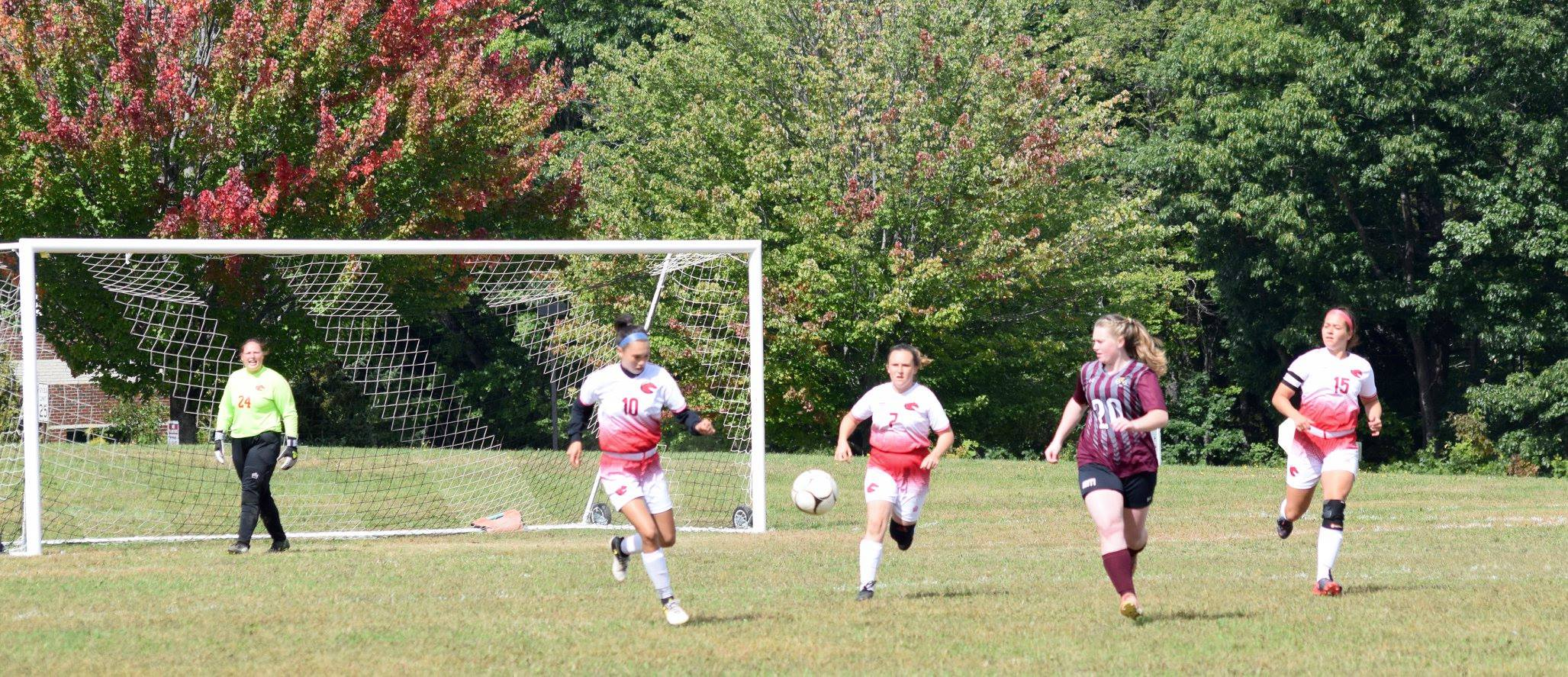 Women's Soccer blanked by NHTI