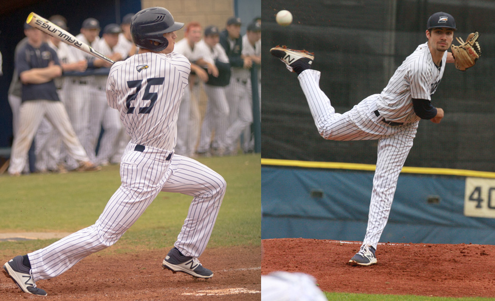 Dimlow Named Co-Pitcher of the Year, Brereton Tabbed Rookie of the Year as Eagles Dominate All-UAA Team