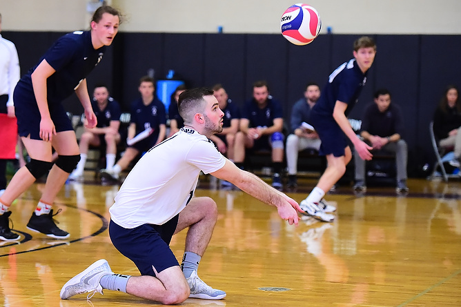 Behrend Men's Volleyball Travels to Thiel for AMCC Quad Match