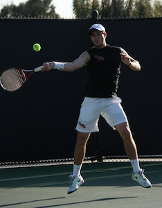 Men's Tennis Advances to SCIAC Championship Match