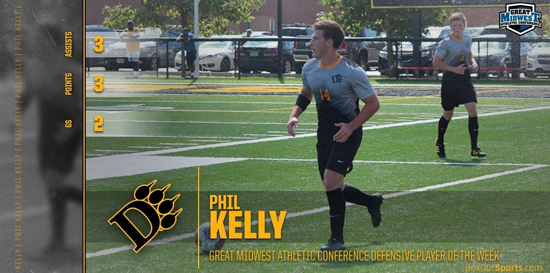Kelly Earns Great Midwest Defensive Player Of The Week Honors