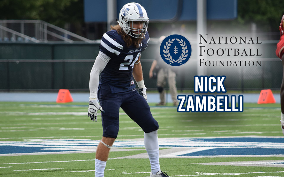 Nick Zambelli named semifinalist for National Football Foundation's William V. Campbell Trophy