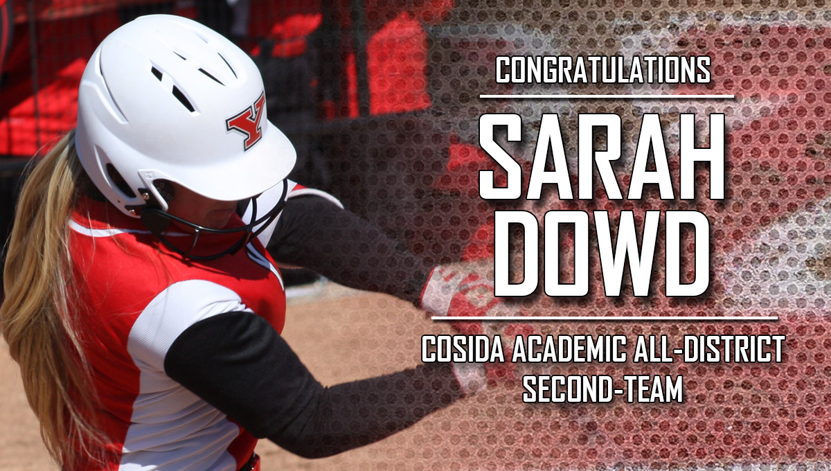 Sarah Dowd Named CoSIDA Academic All-District Second-Team