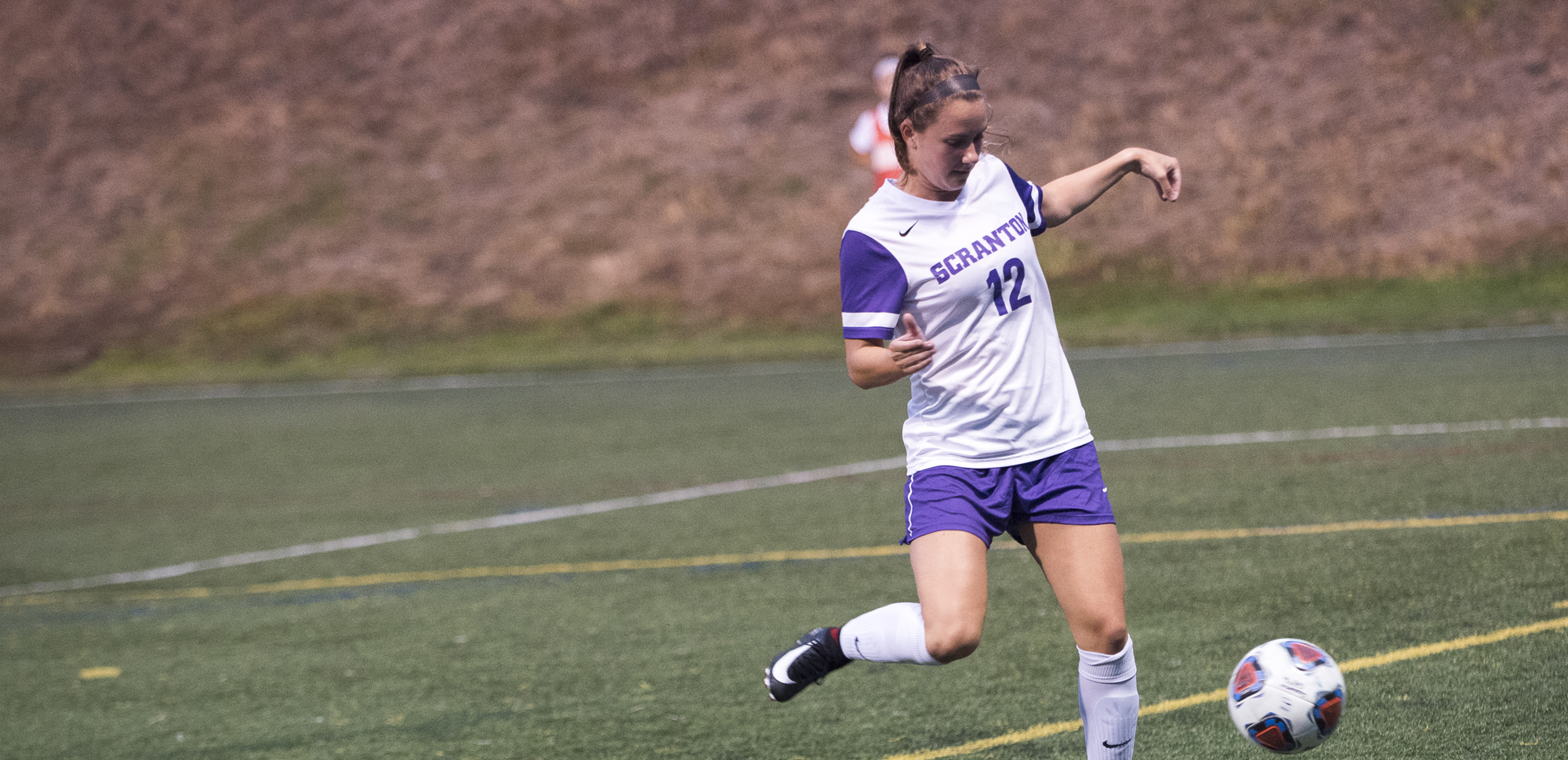 Junior midfielder Brittany Uricchio scored twice in the Royals' 6-0 win at Goucher on Saturday.