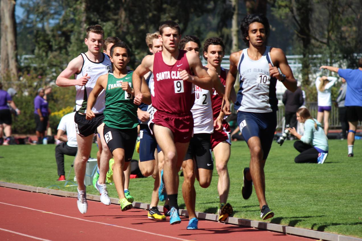 Bronco Track Competes Well At Aggie Opener