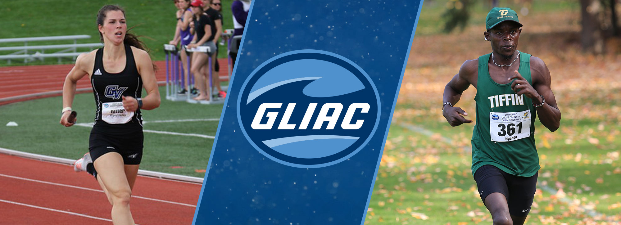 Grand Valley State's Ritter, Tiffin's Ngandu Named 2017-18 GLIAC Scholar-Athletes of the Year