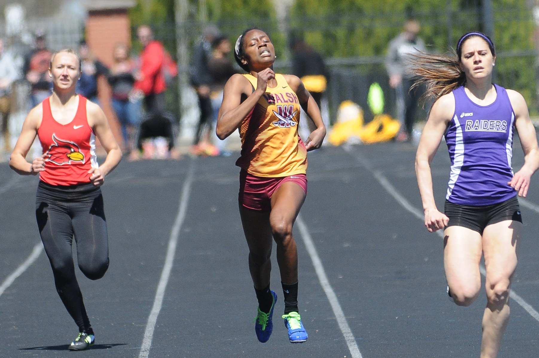 Women's Track & Field Win Three Events At Slippery Rock