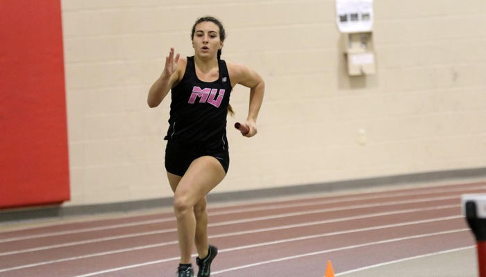 Women's Indoor Track and Field sets two school records at OAC Championships; Ellyson earns All-OAC honors