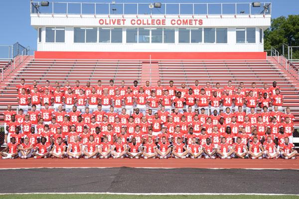 Olivet College Football Team 2012 Olivet College Football