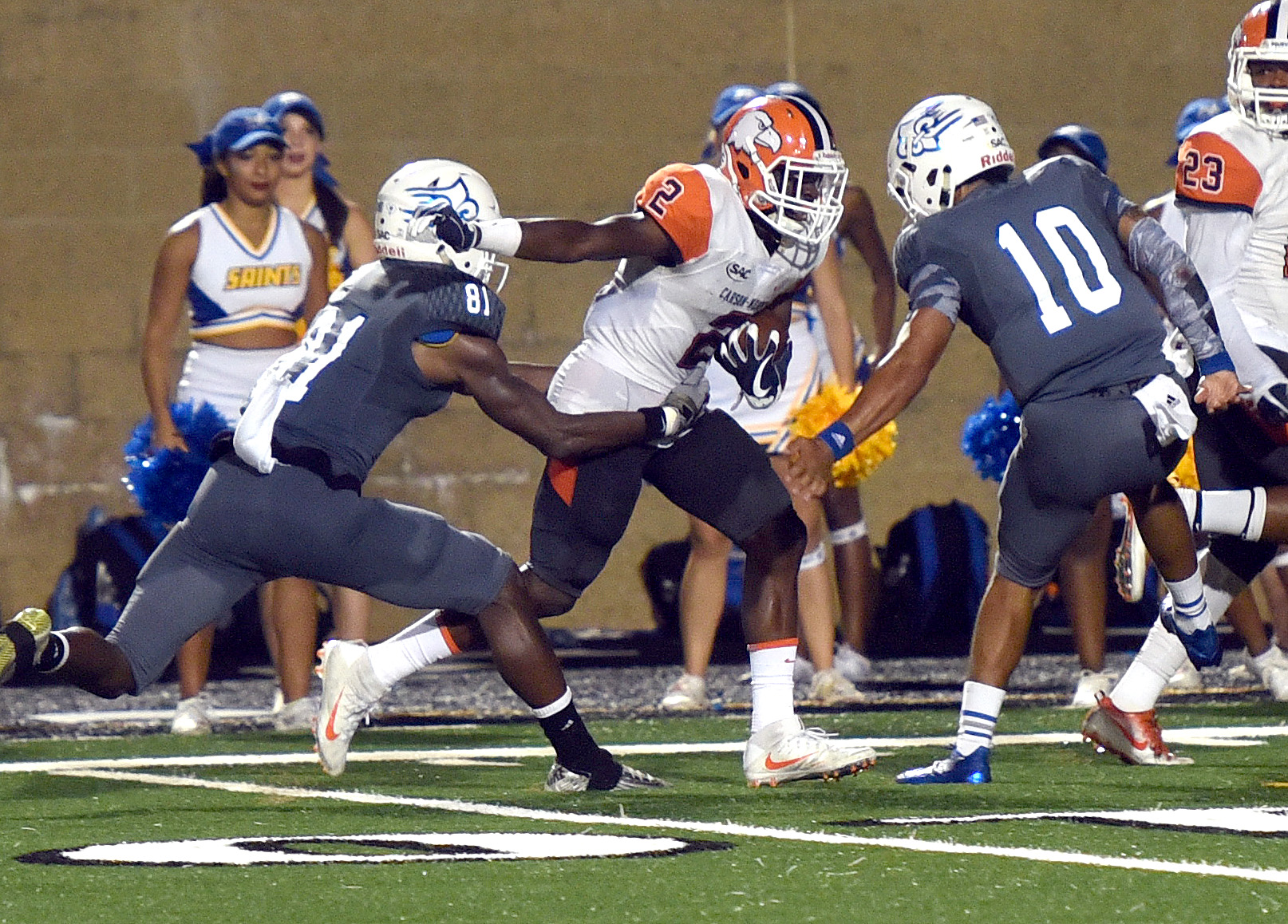 Three second-half turnovers propel Eagles to 31-20 win at Limestone