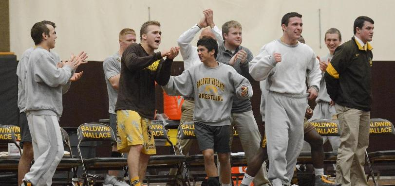 Wrestling Team Ranked 10th and Picked to Win OAC Title