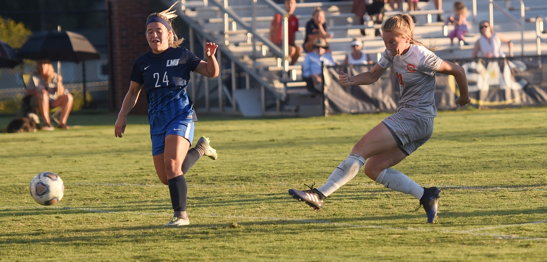 Hat trick from Wade catapults No. 5 Eagles over Tusculum