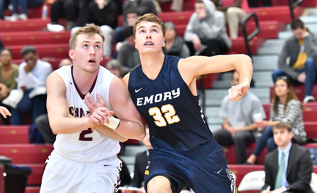 Emory Men's Basketball Squares Off vs. Texas Lutheran In NCAA First-Round Action
