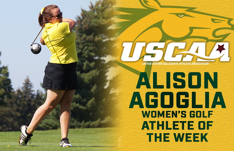Alison Agoglia Earns USCAA Athlete of the Week