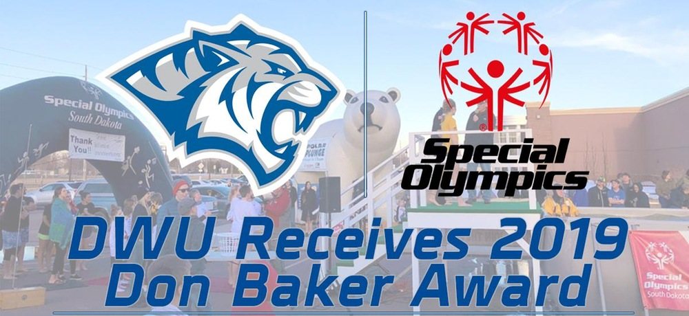 DWU receives highest honor from Special Olympics South Dakota
