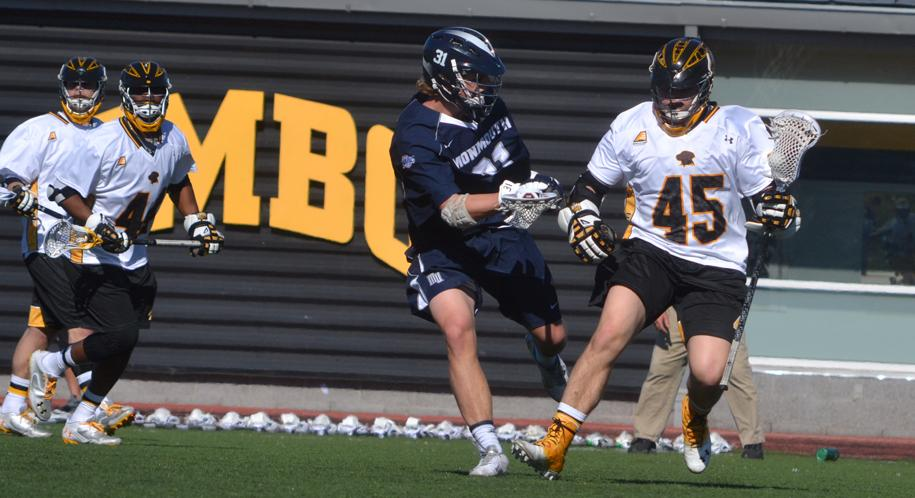 Lewnes Tabbed to Tewaaraton Watch List; Men's Lacrosse Hosts Richmond Saturday Afternoon