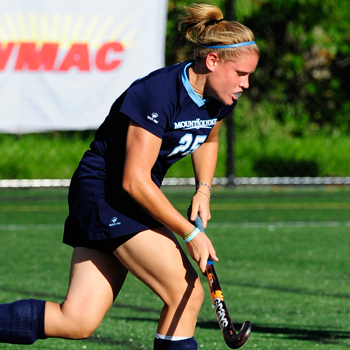 Gibson Guides Field Hockey Past Castleton State