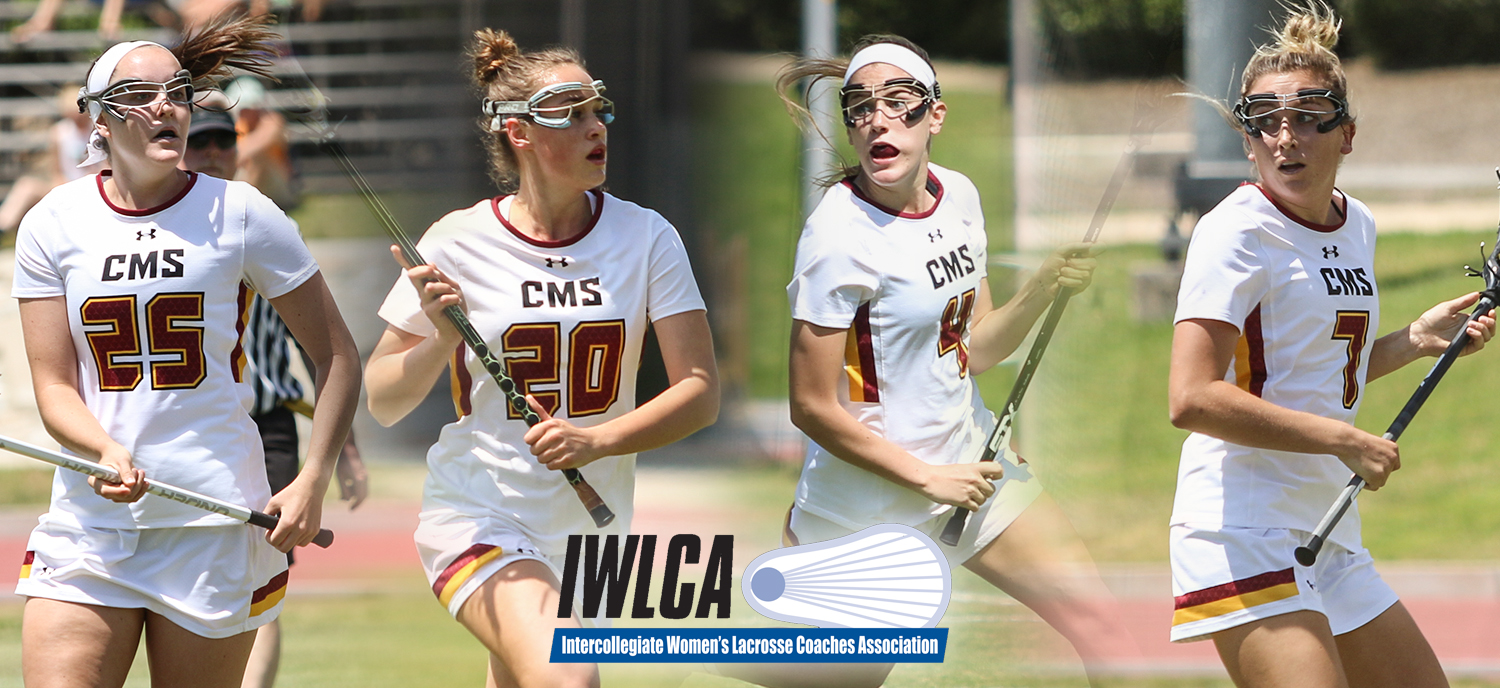 L to R: Sally Abel, Allie Hille, Corie Hack, and Evan Murphy earned All-Region honors from the IWLCA on Thursday.