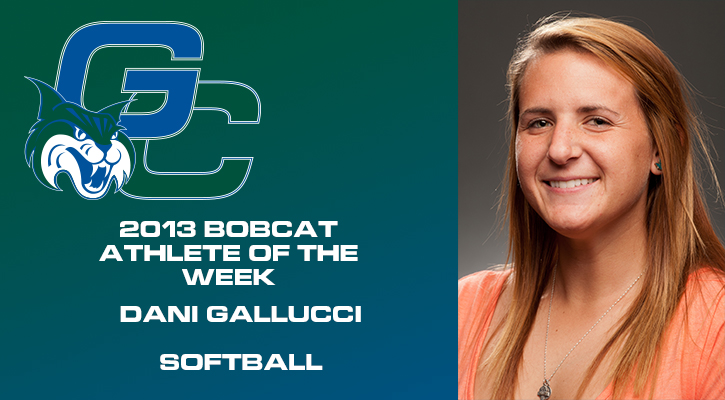 Gallucci Named Bobcat Athlete of the Week for Fifth Time