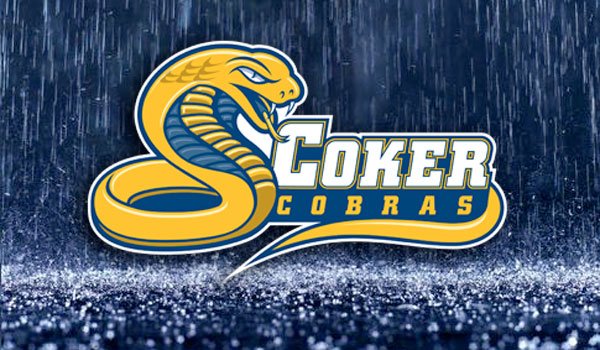 Coker Softball Against Claflin Cancelled