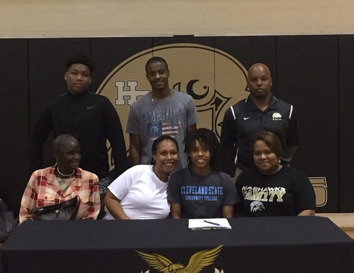 LADY COUGARS LAND HENRY COUNTY'S ASHLEY BURKS