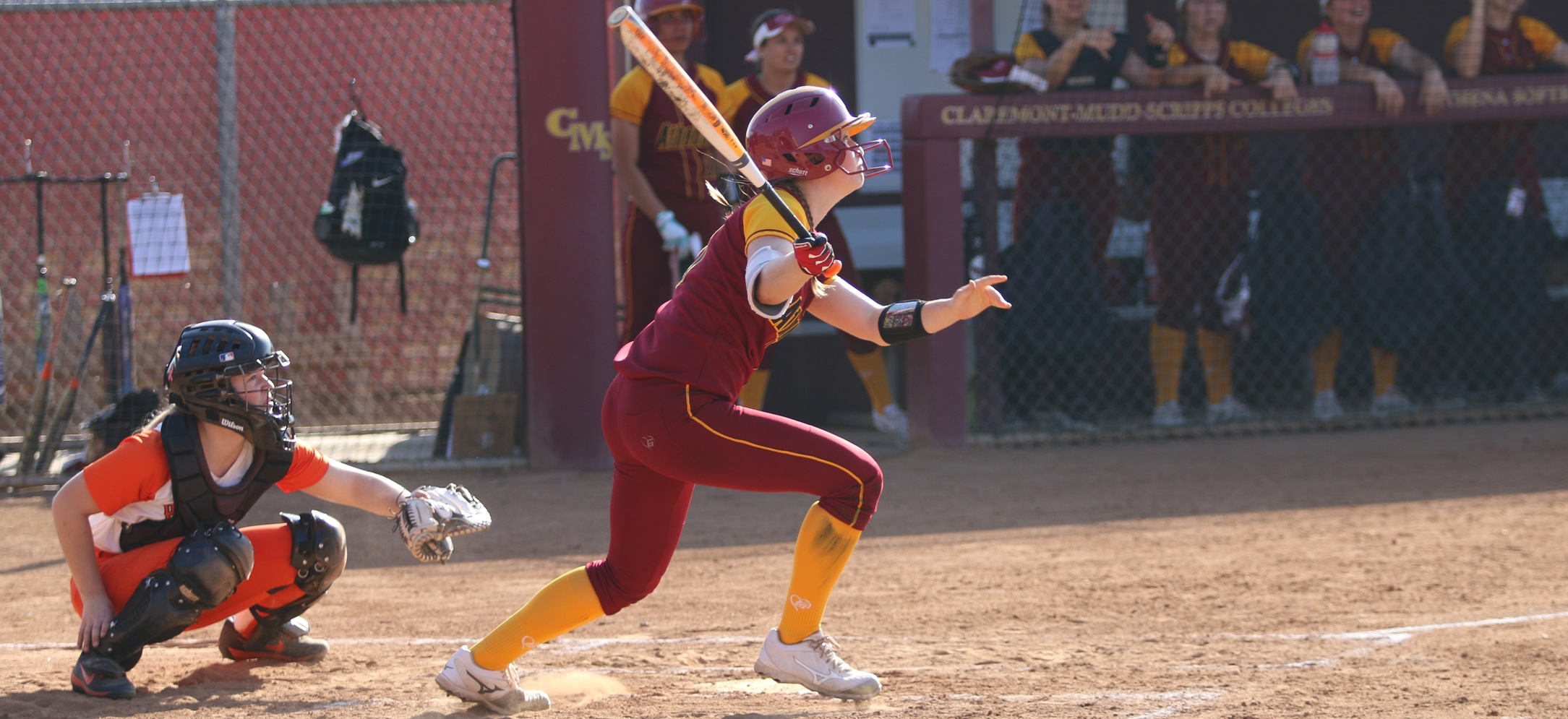Kawai Scanlan (SC) had two RBI in Game Two against Pacific Lutheran.
