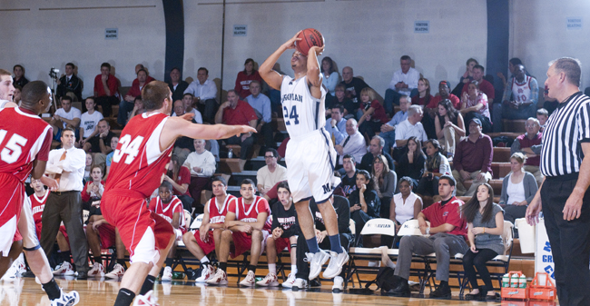 Men's Basketball Falls Short to Immaculata