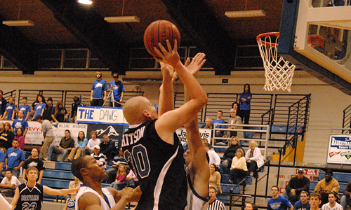 Jonathan Whitson and the Tornados fell to LMU, 79-69