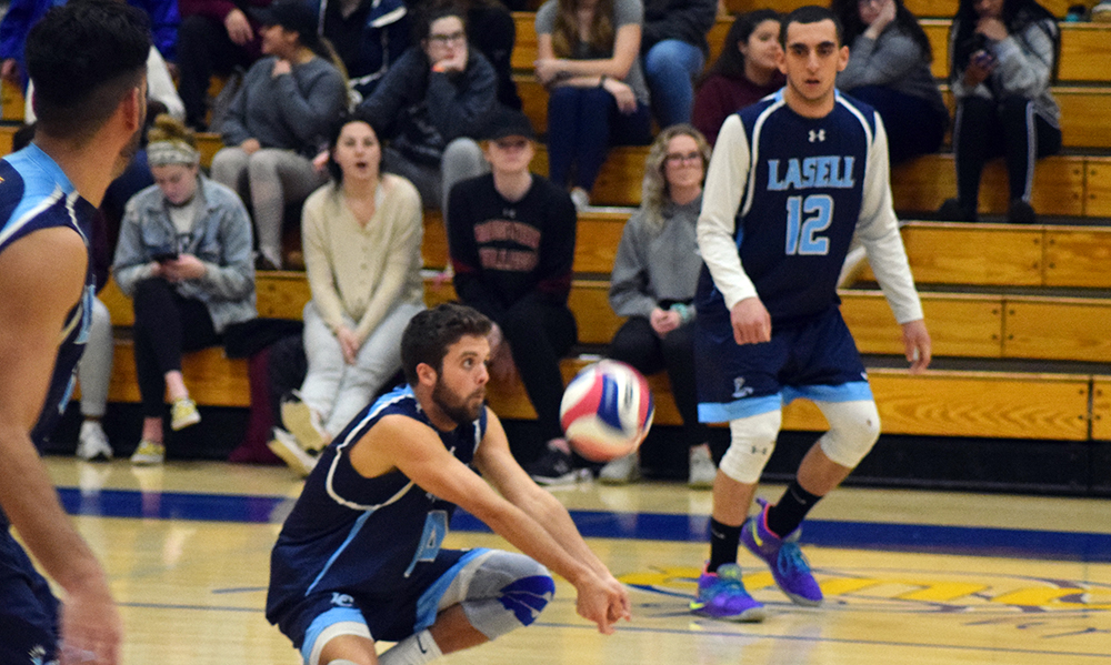 MVB: Lasers overpower Eastern Nazarene: Garcia dishes out 47 assists