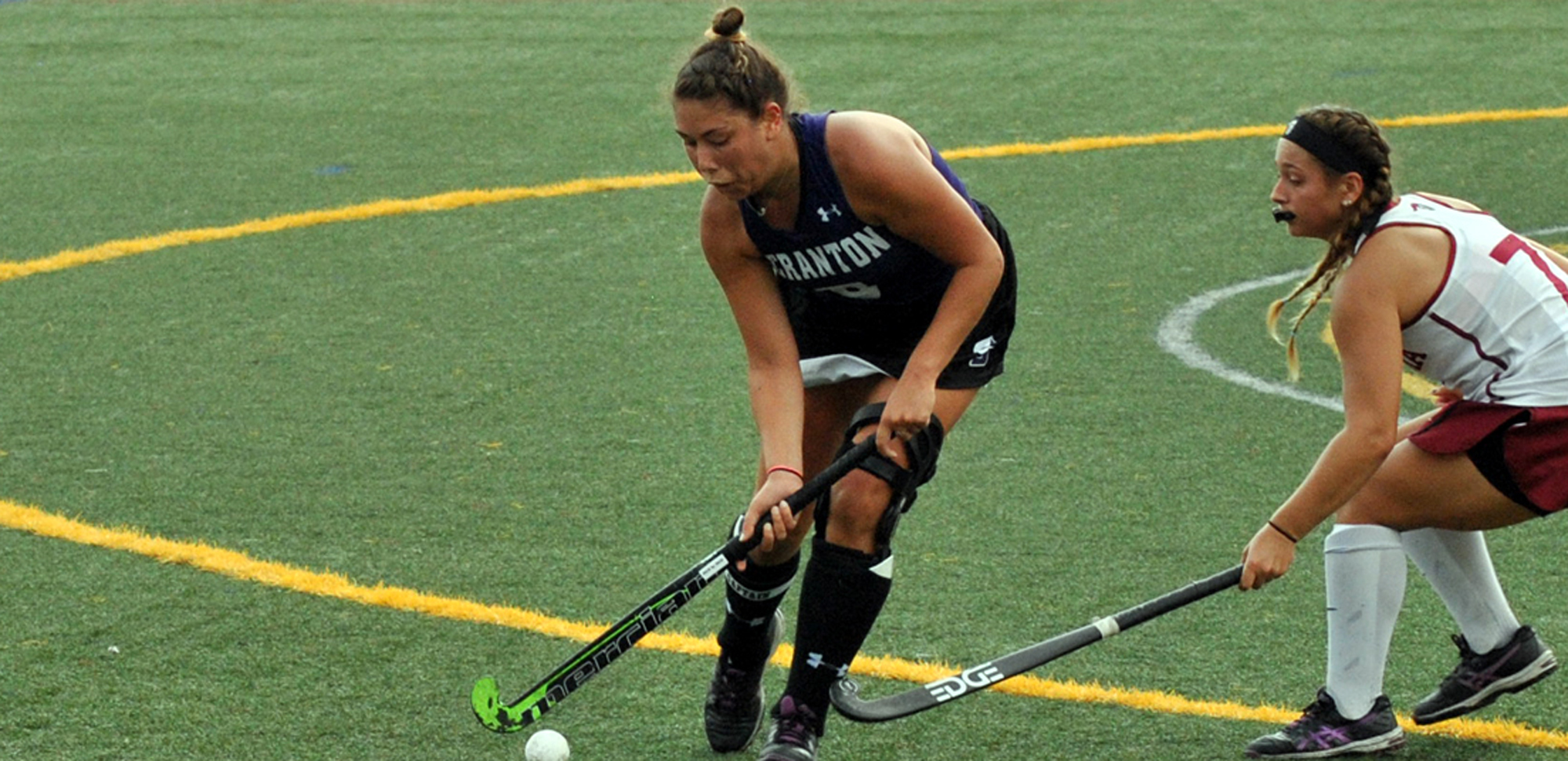 Field Hockey Tallies Six First Half Goals; Coasts Past Moravian in Landmark Opener, 7-0