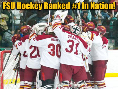 FSU Hockey Ranked #1 In The Nation!