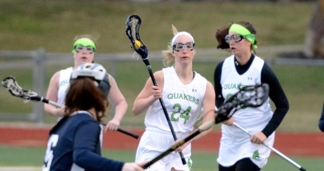 Women's Lacrosse Drops a Close Game 6-5 Against Trine in Home Opener