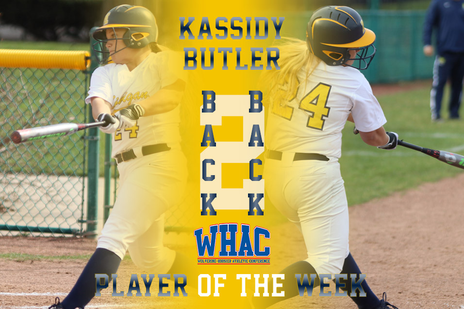 Photo for Back-to-Back: Butler named WHAC POTW for 2nd straight week