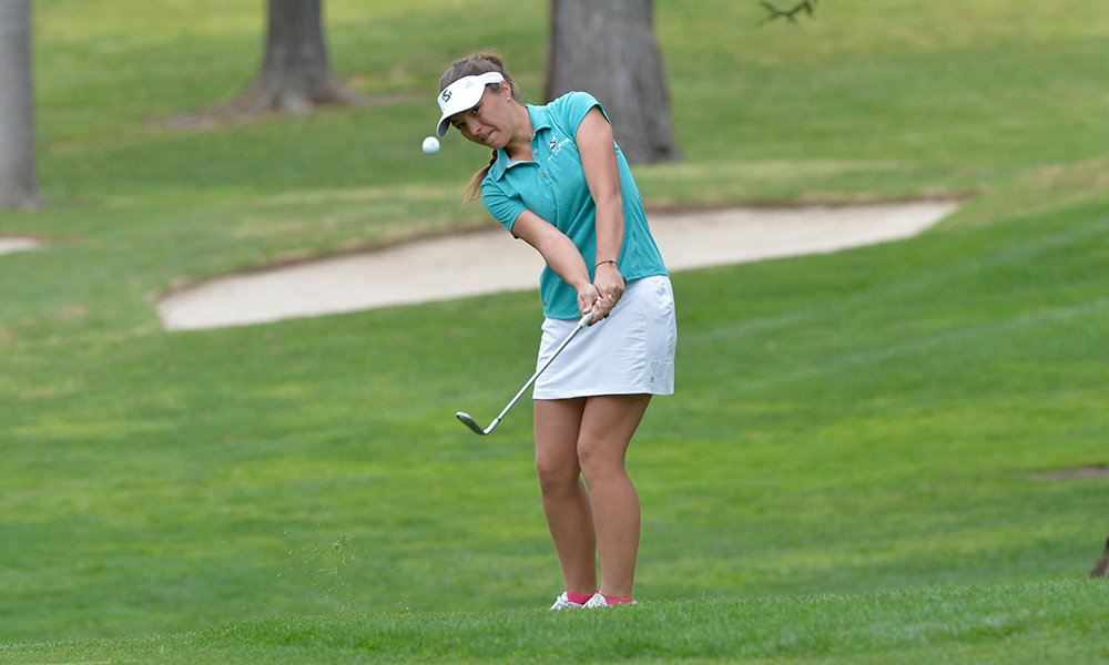 WOMEN'S GOLF LEADS THE JULI INKSTER MEADOW CLUB COLLEGIATE AFTER FIRST DAY