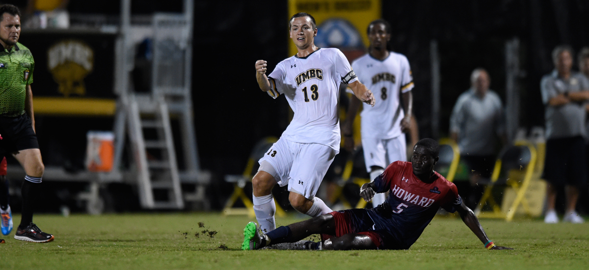 UMBC Men's Soccer Falls, 2-0, to Albany on Saturday Night
