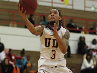 University of the District of Columbia Men's Basketball Team Defeats Fairmont State University on the Road 74-68