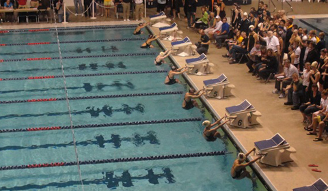 Pioneer Swimming outmatched by Whitworth