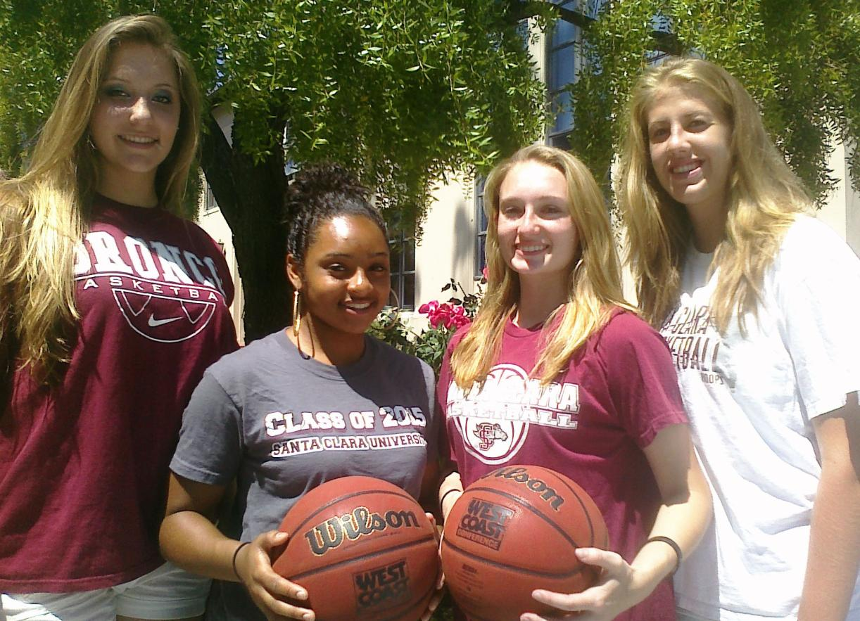 Santa Clara's Nationally Ranked Recruits Arrive on Campus