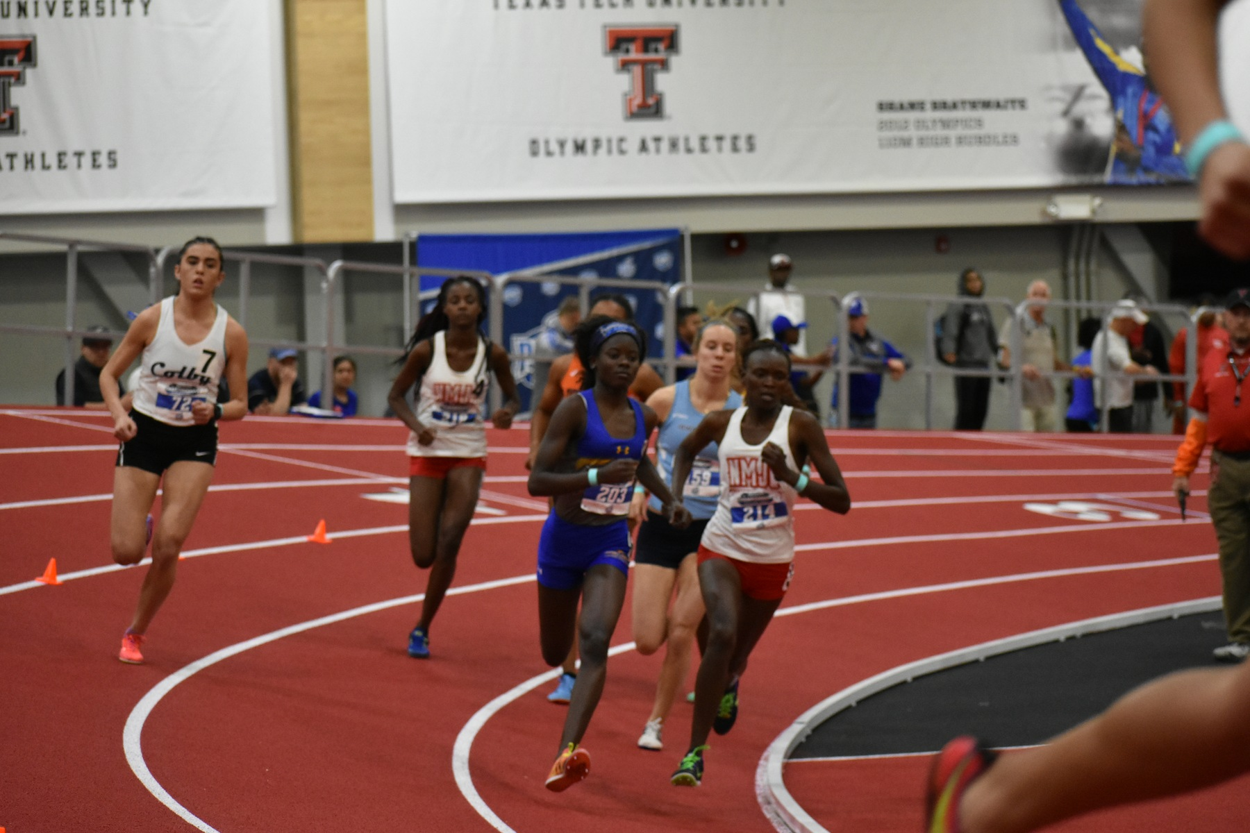 Jacobs Named USTFCCCA National Athlete of the Week