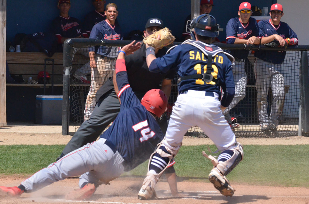 The MCC baseball team suffered a pair of losses to Southwestern CC on Sunday afternoon at Shawn Williams Field