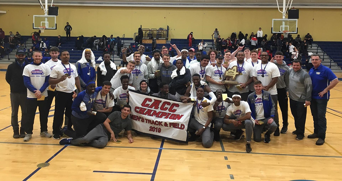 Georgian Court Makes It Four CACC Men's T&F Titles in Five Years