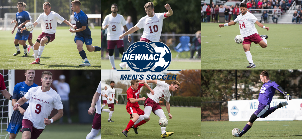 No. 23/25 Men's Soccer Lands NEWMAC-Best Six Student-Athletes on All-Conference Teams